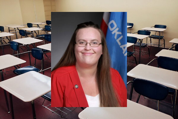 State Sen. Allison Ikley-Freeman, D-Sand Springs, has introduced a Bill dealing with school suspensions.