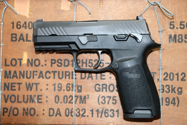 "For many years since the P320 was first introduced to the market in 2014, SIG ""has recklessly failed to recall (the pistol) despite knowing of many grievous wounds it has inflicted on law enforcement agents and civilians across the country,"" contends U.S. Homeland Security Investigations Special Agent Jimmy S.C. Jinn."