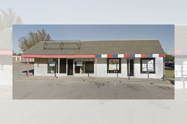 Photo provided               A 2019 Google image capture of the Sun Ok Barbershop before demolition.