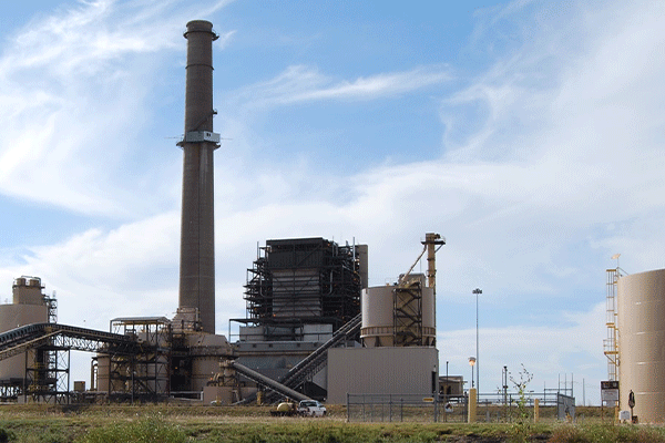 The 650-megawatt Oklaunion coal-fired power plant at Vernon, Texas, will be retired this fall.