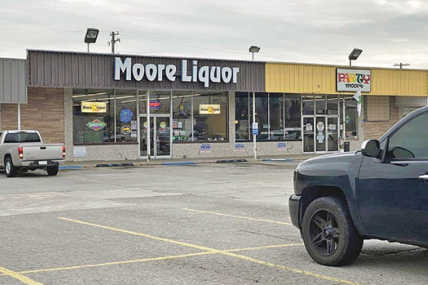 Ledger photo by Curtis Awbrey    The owner of Moore Liquor, 914 SW 4th St. in Moore, believes people working remotely has increased alcohol consumption.